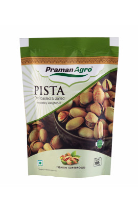 Pista Dry Roasted & Salted 100g Pouch (Pack of 2)