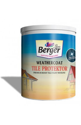 Berger WeatherCoat Tile Protector (STONE GREY) 10 LTR