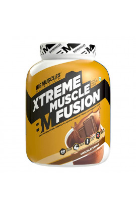 Big Muscles Xtreme Muscle Fusion 6Lbs (Malt Chocolate)