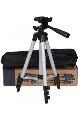 Tripod-3110 40.2 Inch (Silver, Supports Upto 1200G)