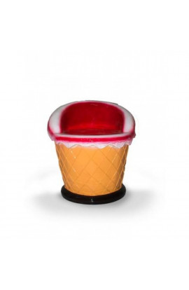 Ice Cream Cone Shape Chair - In Red