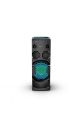 Sony MHC-V50D High-Power Portable Audio System with Party Lights (Black)