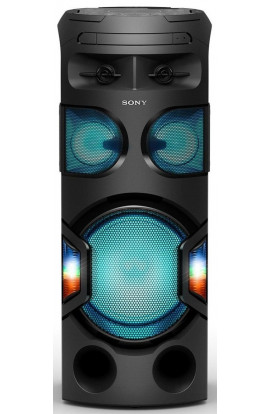 Sony MHC-V71D High Power Portable Party Music System with 360-Degree Light (Black)