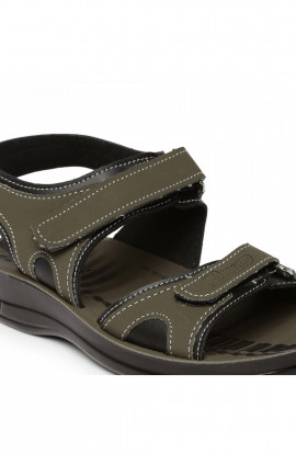 PARAGON KIDS GREEN P-TOES SANDALS (P-TOES 8885)