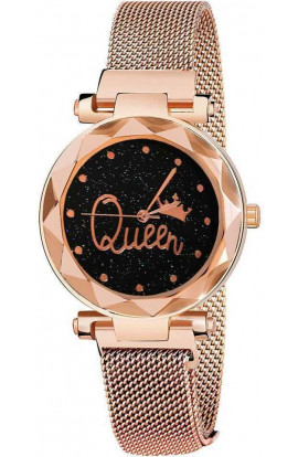 Casual Desinger Dail King Magnet Watch For Women