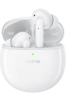 Realme Buds Air Pro Active Noise Cancellation Enabled Bluetooth Headset  (White, True Wireless)
