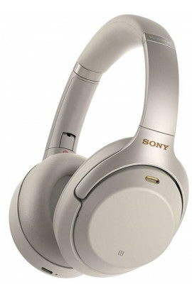Sony WH-1000XM3 Industry Leading Wireless Noise Cancelling Headphones (Silver)