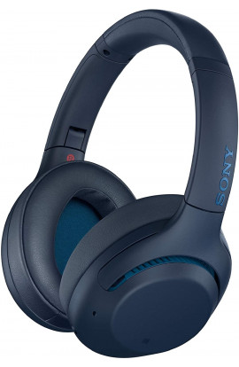 Sony WH-XB900N Wireless Bluetooth Noise Cancelling Extra Bass Headphones (Blue)