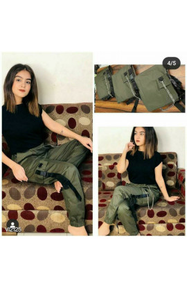 Beautiful New Overalls Trousers Hip Hop Jazz Street Dance Performance Clothes Style Loose High Waist Cotton Jogger Pants