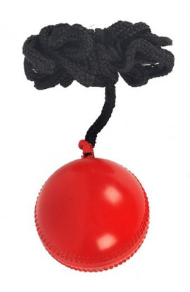 RK  Synthetic Red  Nimbus Cricket Hanging Synthatic Ball
