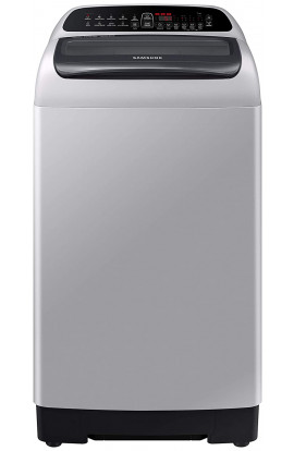 Samsung 6.5 Kg Inverter 5 star Fully-Automatic Top Loading Washing Machine (WA65T4262VS/TL, Imperial Silver, Wobble technology)