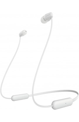SONY WI-C200 Bluetooth Headset  (White, In the Ear)